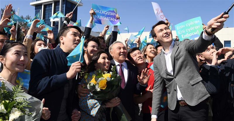 Нұрсұлтан Назарбаев Алматыға келді