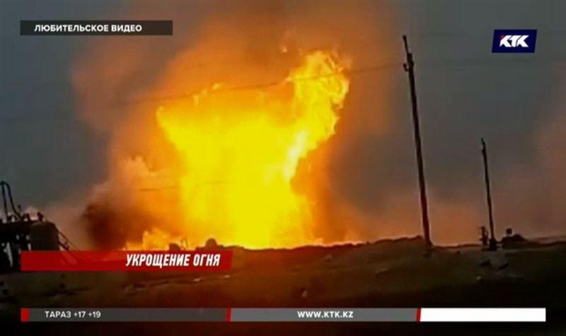 Крупнейшая экологическая авария в Мангистауской области