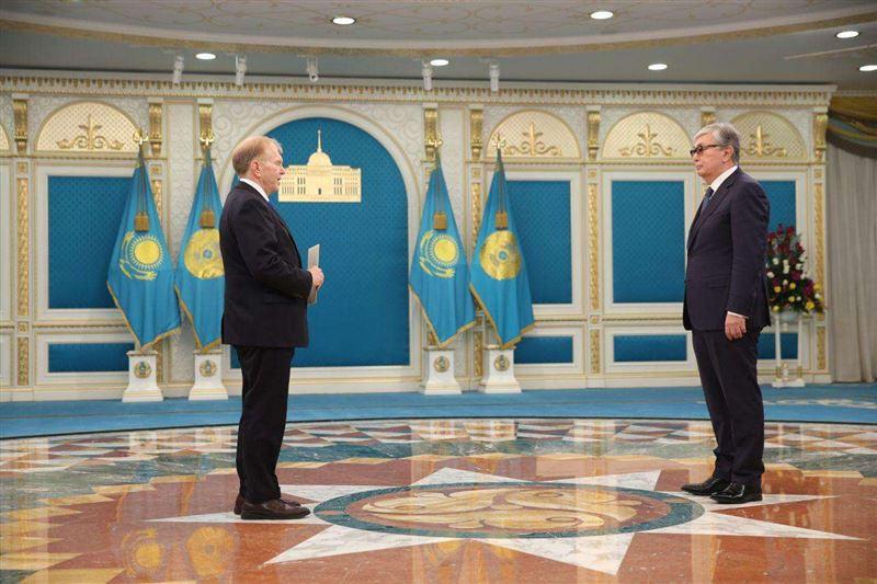 Касым-Жомарт Токаев принял верительную грамоту у нового посла США