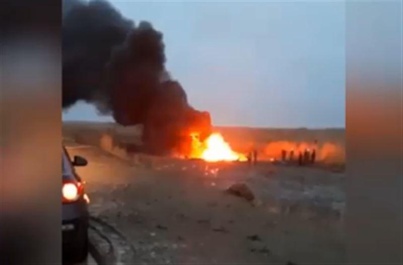 В Кызылординской области разбился военный вертолет. Есть жертвы