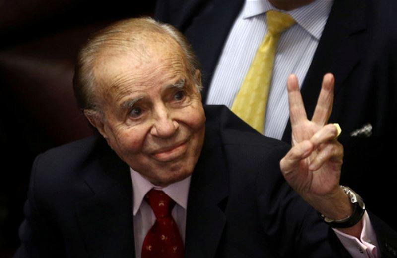 Бывший президент Аргентины Менем приговорён ктюремному сроку