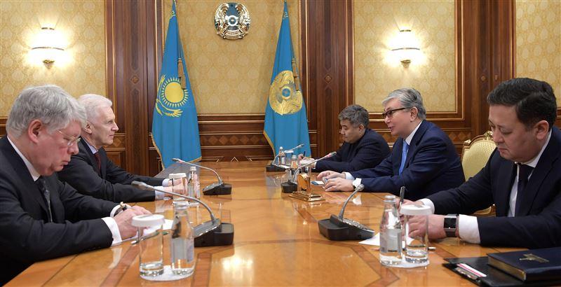 Президент Казахстана встретился с помощником президента России