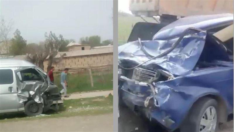 Жуткая авария унесла жизни двух человек в Туркестанской области