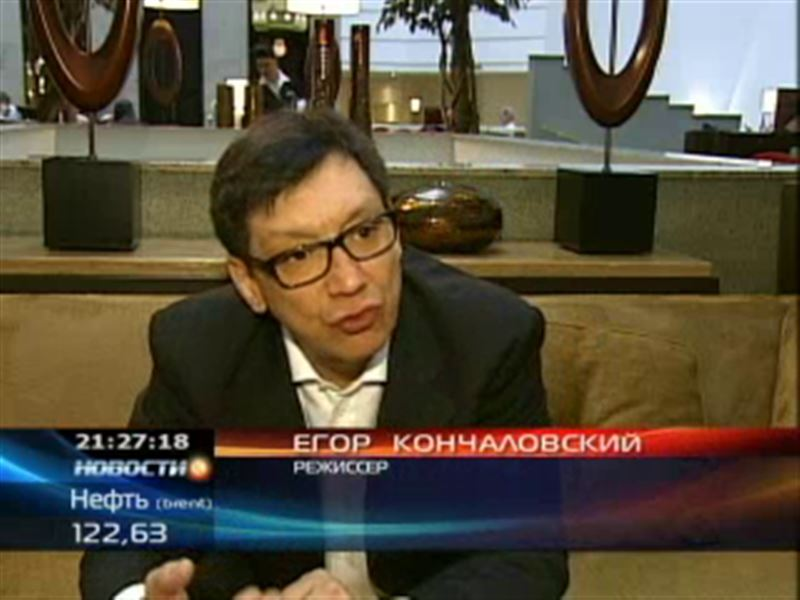 Егор Кончаловский представил фильм о столице Казахстана