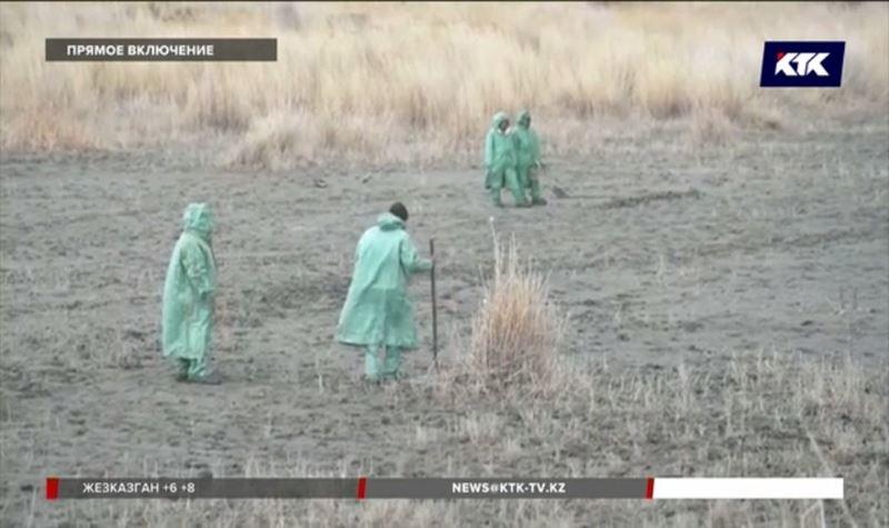 Как проходит поисковая операция на месте падения Ми-8 – прямое включение