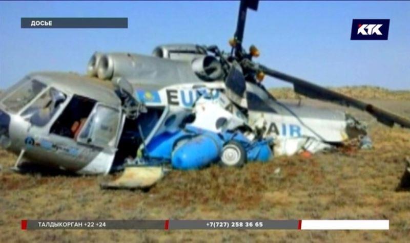 За последние 10 лет Ми-8 падали в Казахстане шесть раз