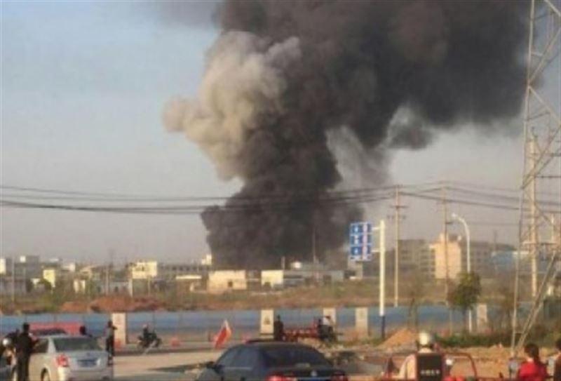 Пять человек стали жертвами взрыва на фабрике в Китае