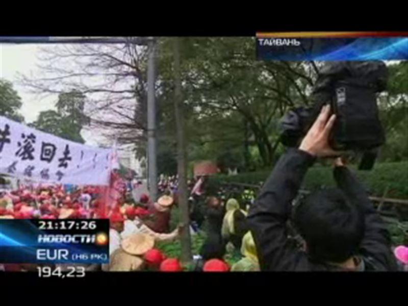 Тайваньские фермеры выступили против импортируемого мяса из США