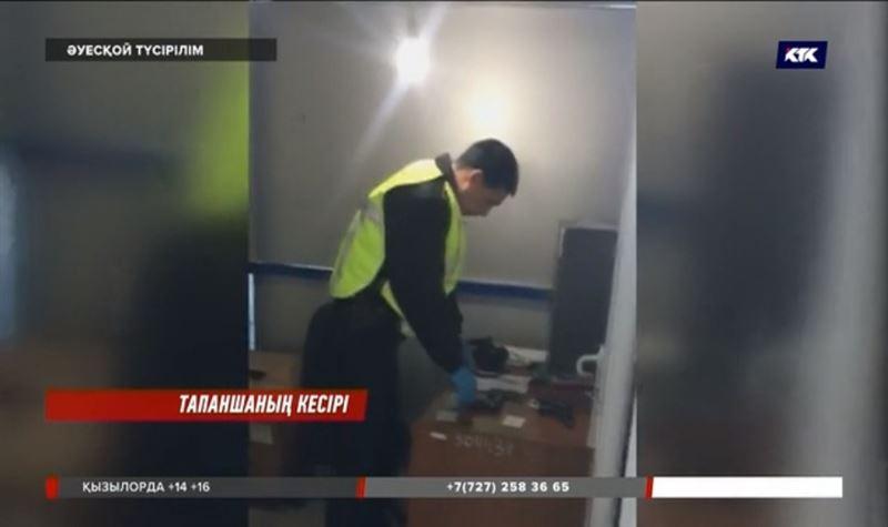 Атырау әуежайындағы атысқа себепкер болған полицей жұмысынан қуылды