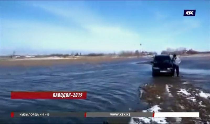 Власти Карагандинской области объявили о пике паводка
