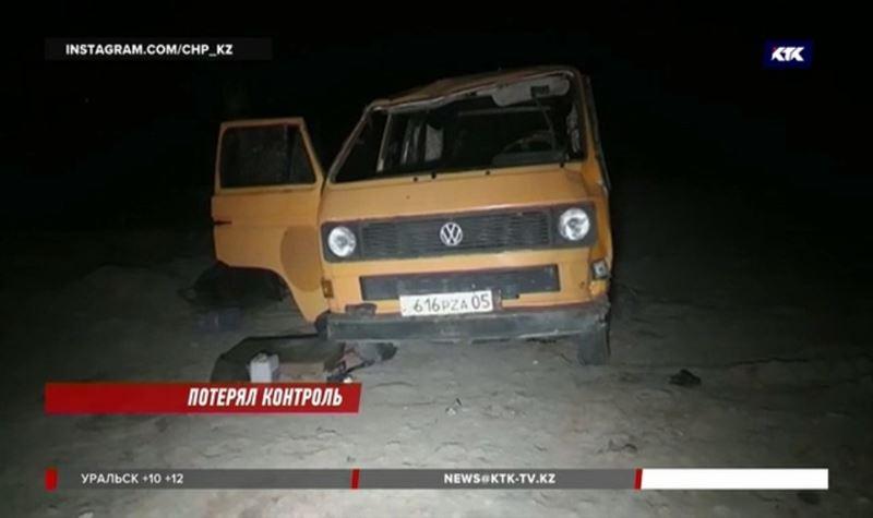 Пятеро детей пострадали в смертельной аварии в Алматы