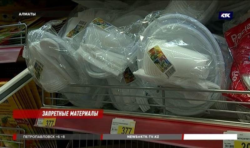Казахстан готов отказаться от полиэтиленовых пакетов и одноразовой посуды