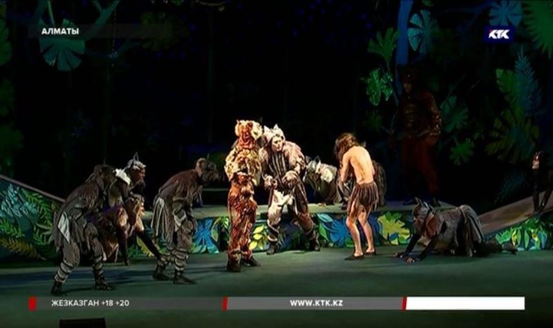 В алматинском ТЮЗе представили свою версию знаменитого «Маугли»
