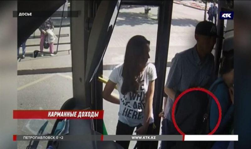 Семерых карманников поймали «на живца» в Алматы