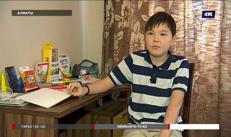 Мальчик, который мечтает стать кинорежиссером, страдает редким генетическим заболеванием