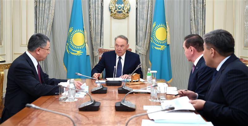 Нурсултан Назарбаев принял Жансеита Туймебаева