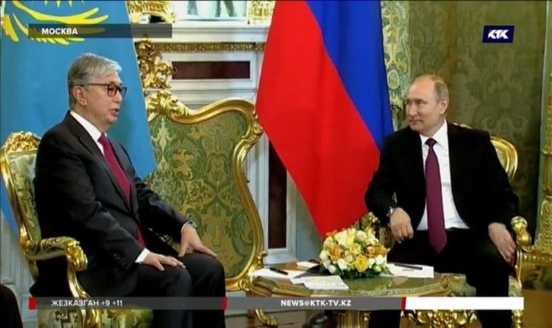Знаки особого почёта: детали визита президента Токаева в Россию