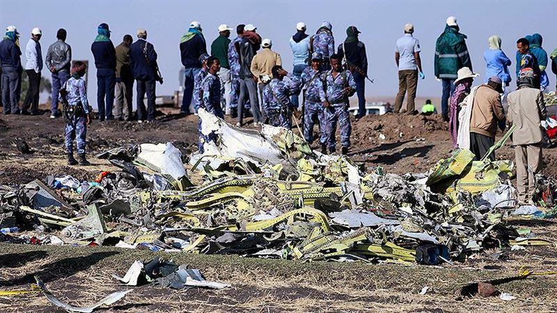 Расшифрованы последние слова экипажа разбившегося в Эфиопии Boeing