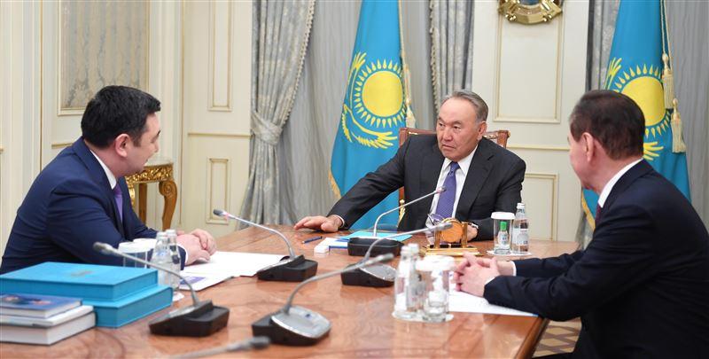 Елбасы Нурсултан Назарбаев встретился с Дарханом Кыдырали