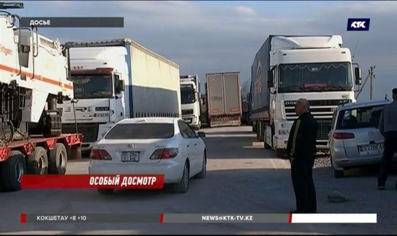 Минфин прокомментировал очереди на границе с Кыргызстаном