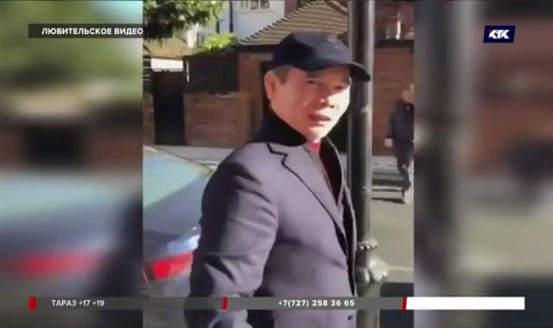 Бергея Рыскалиева сняли гуляющим по улицам Лондона