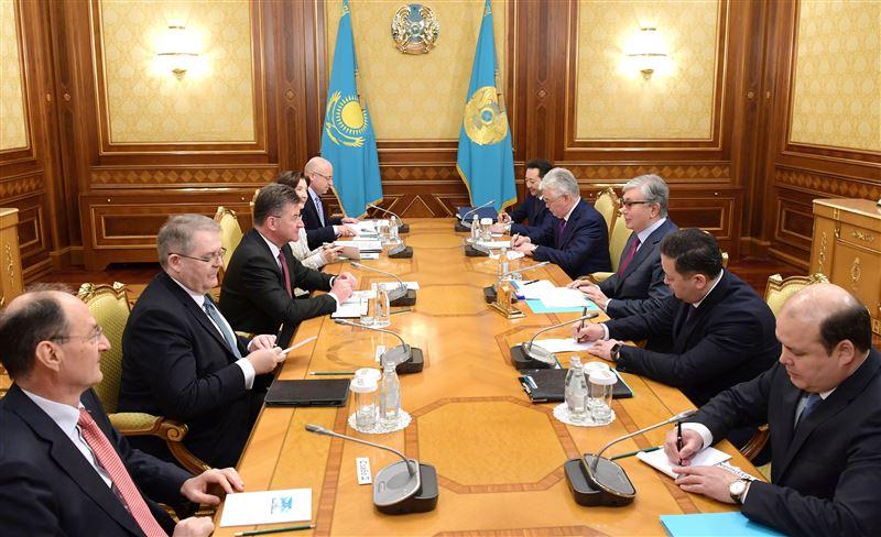 Президент встретился с председателем организации по безопасности в Европе