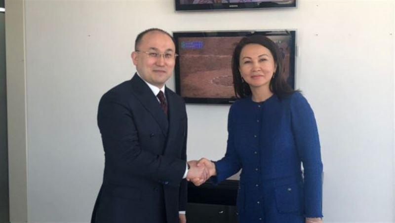 Ляззат Танысбай стала главой РТРК «Qazaqstan»