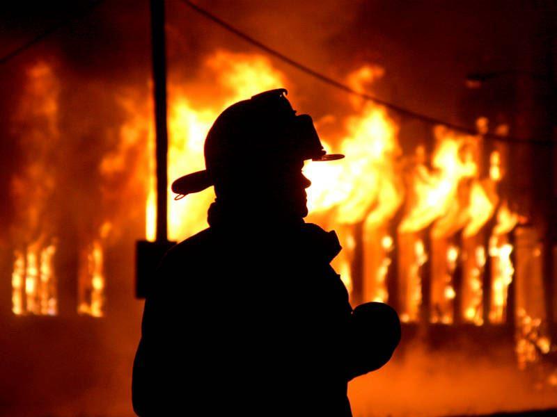 При пожаре в Рудном погибли более 5тысяч птиц