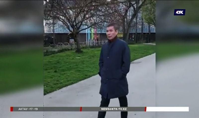 Генпрокуратура отреагировала на видео с гуляющим по Лондону Рыскалиевым