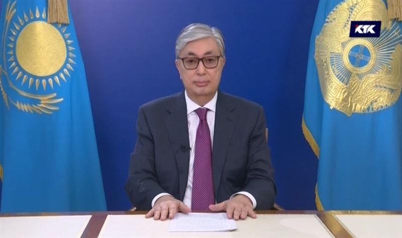 Мемлекет басшысы Қасым-Жомарт Тоқаевтың Қазақстан халқына үндеуі