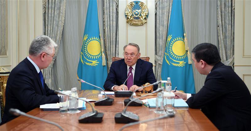 Нурсултан Назарбаев принял министра иностранных дел