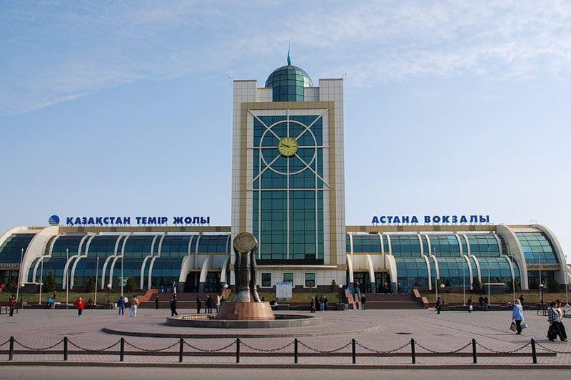 Столичный вокзал «Астана» переименован в «Нур-Султан»