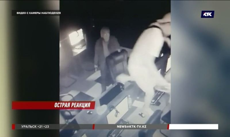 64-летний геймер напал с ножом на сотрудника компьютерного клуба в Алматы