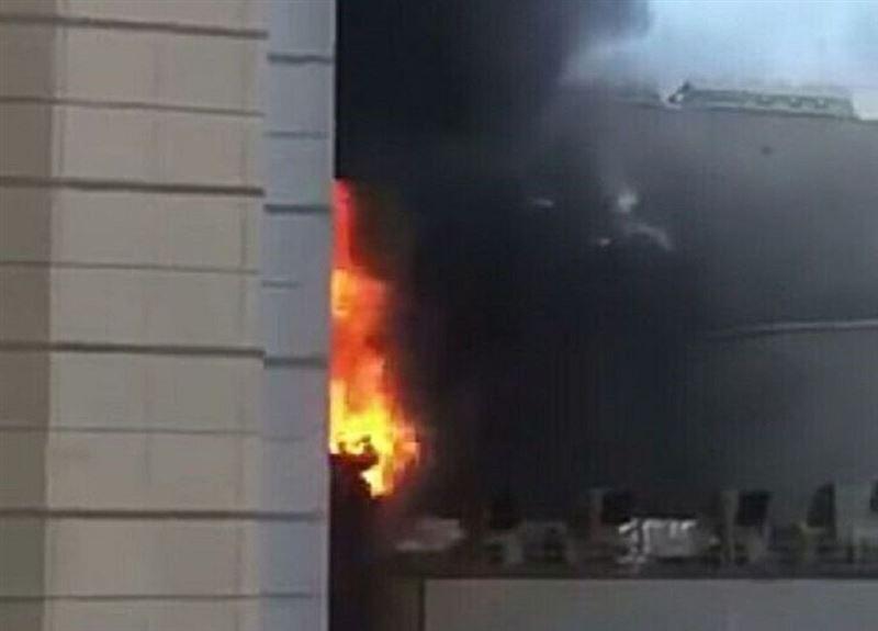 В Бангкоке люди выпрыгивали из здания, спасаясь от огня