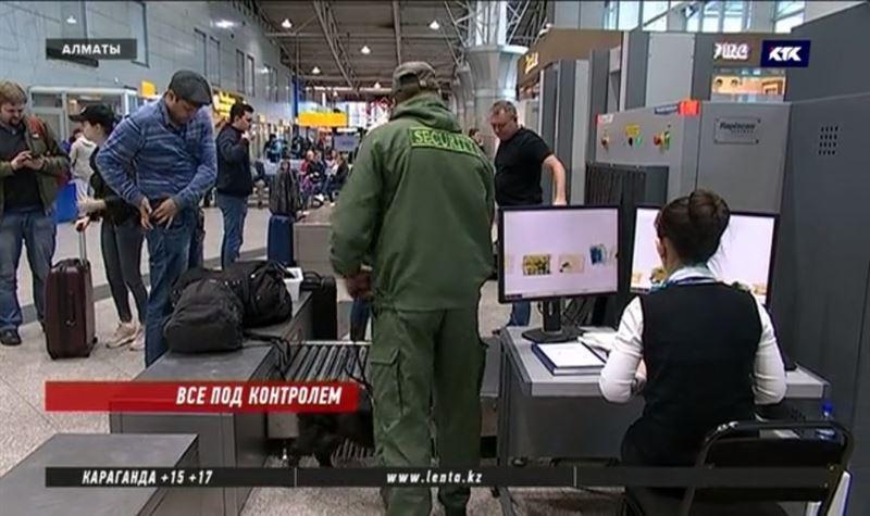 В аэропортах и на вокзалах Казахстана снова появилась первая линия досмотра