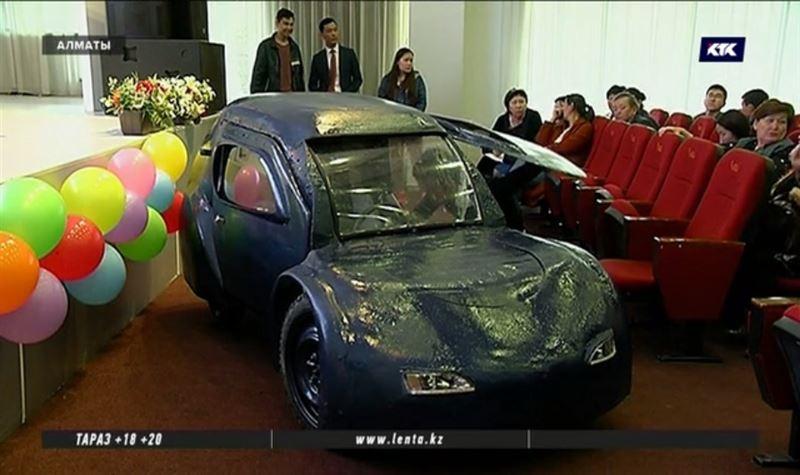 Казахстанские студенты повезут свой электромобиль в Малайзию