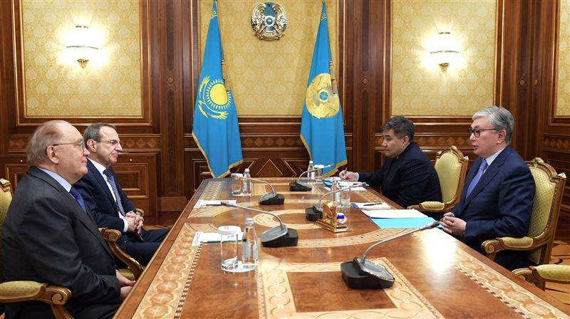 Президент Казахстана принял в Акорде ректора МГУ им. Ломоносова
