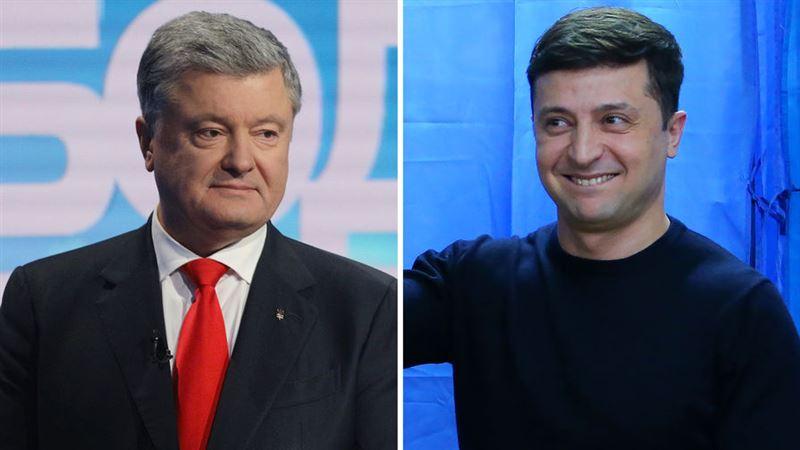 Зеленский назвал время и место дебатов с Порошенко