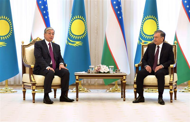 Токаев встретился с президентом Узбекистана