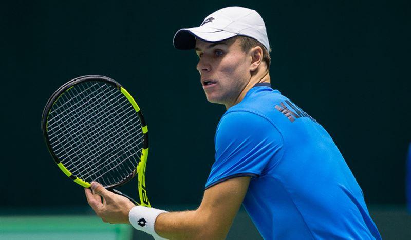 Теннисист из Казахстана одержал победу в турнире серии ITF