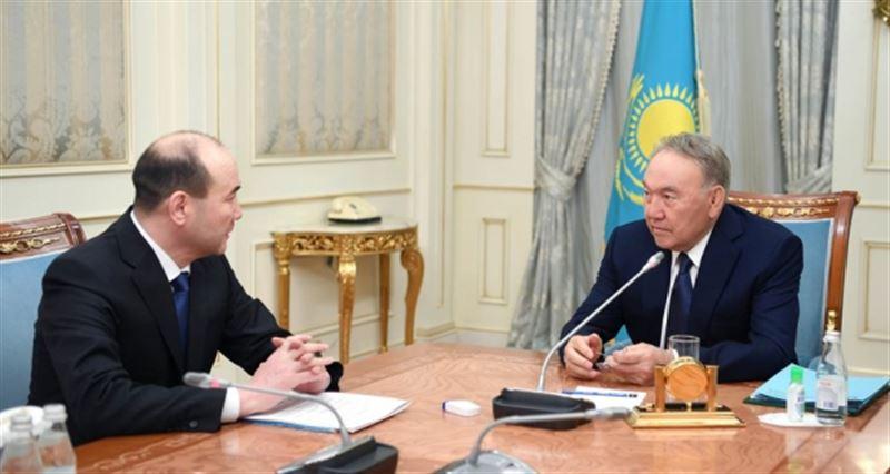 Нұрсұлтан НазарбаевБас прокурорды қабылдады