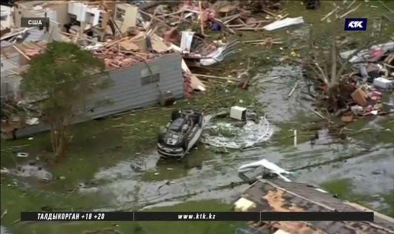 Ураган и торнадо обрушились на США
