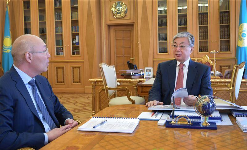 Токаев принял Управляющего Международным финансовым центром «Астана»