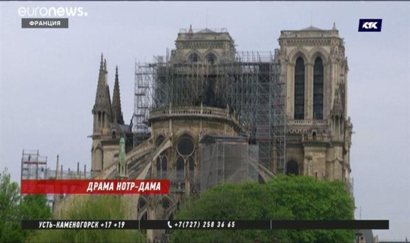«Сгорело сердце Парижа»: Нотр-Дам попытаются спасти всем миром