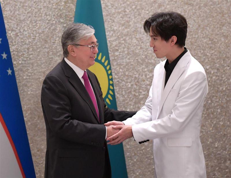 Димаш Кудайберген встретился в Ташкенте с президентами Казахстана и Узбекистана