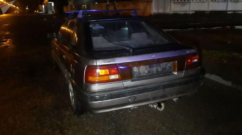 В Алматы водитель наехал на ребенка и скрылся с места происшествия