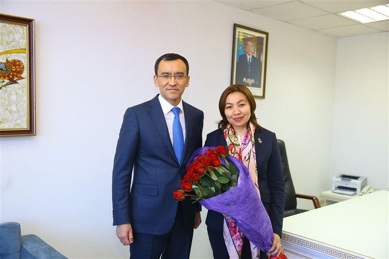 Гендиректором телеканала «Astana TV» стала Бибигуль Жексенбай