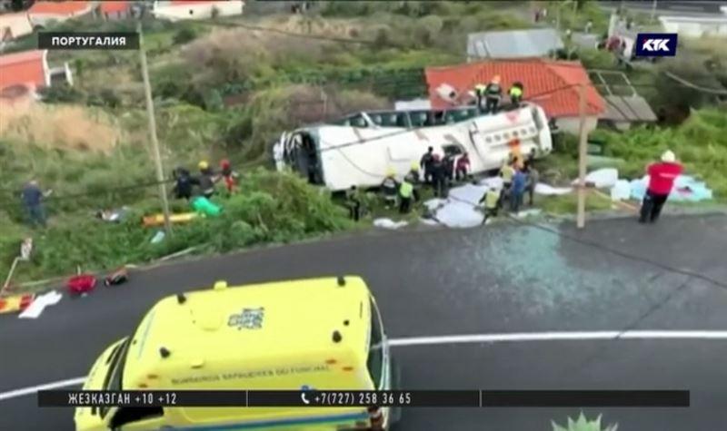 29 смертей – в Португалии перевернулся автобус с туристами