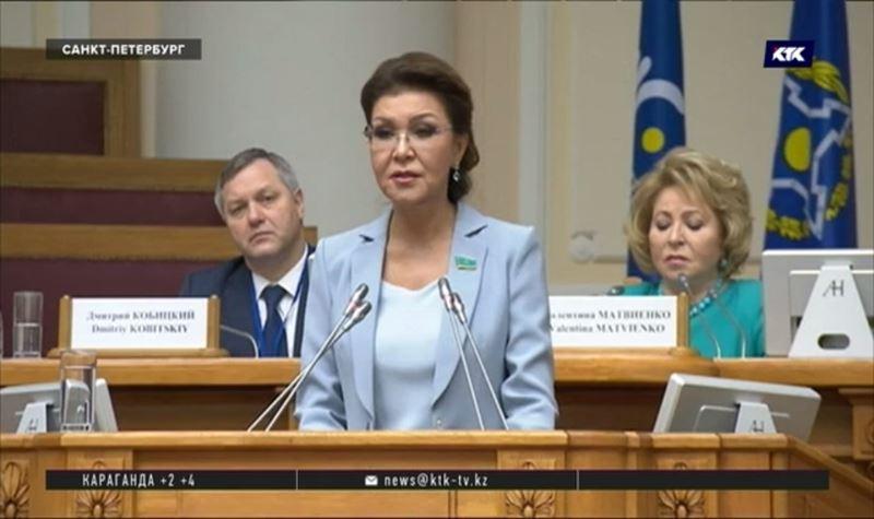 Борьбу с терроризмом обсудила Дарига Назарбаева с коллегами по СНГ