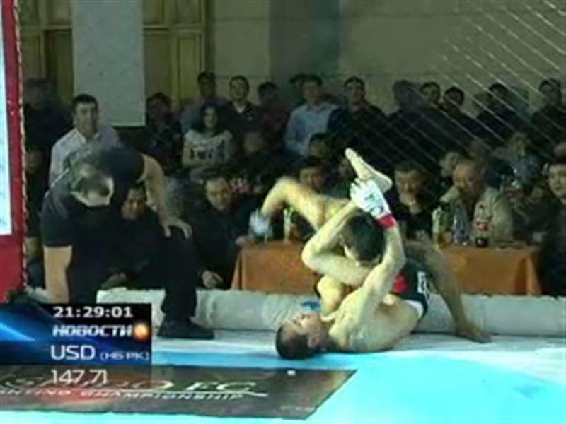 В Алматы прошел международный турнир по смешанным единоборствам
